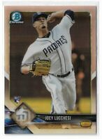 2018 Bowman Chrome rookie refractor parallel Joey Lucchesi 136/499