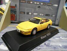 NISSAN 180SX 180 SX / 200 SX Coupe 1989 yellow gelb 420146 NEU ! Norev 1:43