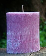 90hr Violets & Baby Powder Triple Scented Oval Candle Free Shipping / Post