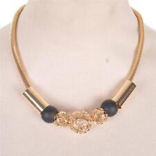 Modeschmuck-Halsketten aus Perlen und gemischten Metallen