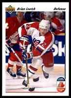 1991-92 Upper Deck Brian Leetch #35