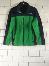 Verde da uomo The North Face vintage con Felpa in Pile Giacca Taglia Small #3