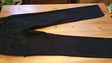 de Backer's Black Midrise Straight Jeans 32