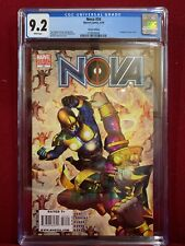CGC 9.2 Nova #34 Deadpool Variant Cover Marvel comic with certificate from Rupps