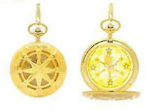 Card Captor Sakura Gold Kero-chan Pocket Watch Anime Manga NEW