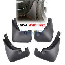 MOLDED MUD FLAPS fitfor Toyota RAV4 2.4 With Fender Flare 2007-2012 SPLASH GUARD