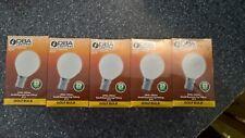 10 x Opal Golf Ball Lamp Light Bulbs 25w SBC Cap  -   DBA Lighting - Top Quality