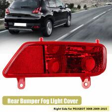 Rear Bumper Tail Fog Light Lamp Right Driver Side O/S For PEUGEOT 3008 2009-2015