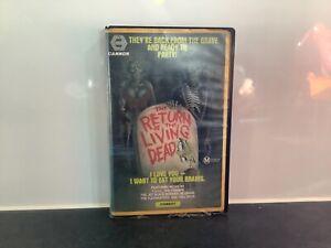 THE RETURN OF THE LİVİNG DEAD. 1984 VHS/PAL. RARE. ORIGINAL. HORROR