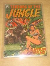 TERRORS OF THE JUNGLE #5 VG (4.0) STAR COMICS LB COLE COVER JUNE 1953