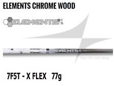 New Ust Mamiya Elements Chrome 7 F5T Woods Shaft X Flex 0.335 Tip Od - 77g