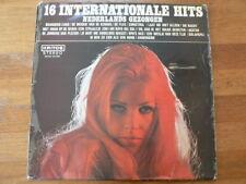 LP RECORD VINYL PIN-UP GIRL 16 INTERNATIONALE HITS  NED. GEZONGEN KRITOS A