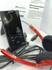 Sony Walkman NWZ-E443 Black 4GB Personal Digital Media Player MP3 WMA MP4 JPEG
