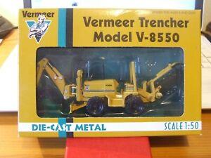Very rare ERTL 9513-001 Vermeer Trencher Model V-8550, 1:50, BNIB