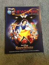 Disney Newsreel Walt Disney Snow White Seven Dwarfs September 25, 2009 New