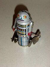 Tin Litho Walking Space Wind Up Robot 7