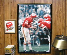 20x30 Kansas City Chiefs SUPER BOWL IV Len Dawson huddle poster photo O Taylor