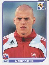 N°470 MARTIN SKRTEL # SLOVAKIA STICKER PANINI WORLD CUP SOUTH AFRICA 2010