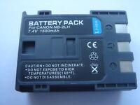 Batterie NB-2LH NB-2L 7,4V 1500mAh pour CANON EOS 400D ACCU Battery