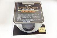 Hoya POL circular Filter 27mm Super Quality Neuware Polfilter 27 mm Sonderpreis