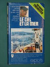 Le ciel et la mer souvenirs de ma vie  Sir Francis CHICHESTER Gallimard exploits