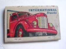 1940's Robinson Equip INTERNATIONAL Trucks Garden City Kansas 40 Strik Matchbook