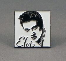 METALLO SMALTO SPILLA BADGE The King Of Rock and roll Singer MUSICISTA ELV