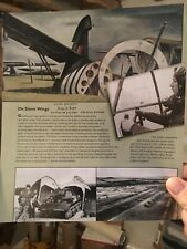 PEGASUS BRIDGE HORSA GLIDER PILOT Peter Boyle Signed photo FLYING HORSA