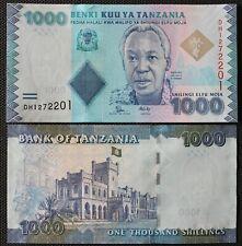 Tanzania - Tanzanie - Billet de 1000 Shillings (2015) Neuf - Unc