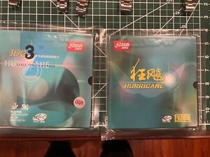 Hurricane 3 NEO NATIONAL table tennis rubber Black Brand New Sealed