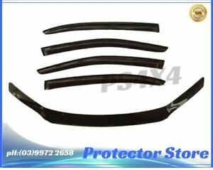 Ford Falcon FG 2008-2014 Bonnet Protector & Wind Visors Weather Shields