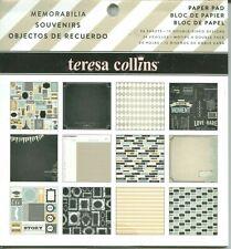 Memorabilia  Pictures Memories Story Moment 6 x 6 Teresa Collins Paper Pad