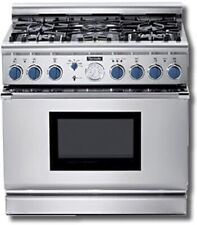 """Thermador Pd366Bs 36"""" Dual Fuel Pro Grand Range 6 Burners Stainless"""