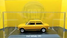 MODELLINO AUTO FIAT 128 RALLY RALLYE SCALA 1:43 DIECAST CAR MODEL DA COLLEZIONE