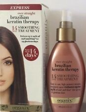 3 Organix ~ Ever Straight Brazilian Keratin Therapy ~ 14 Day Smoothing Treatment