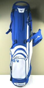 Mint Mizuno BR-D3 Carry/Stand Golf Bag, Color Staff, Blue/White, 4 Club Divider