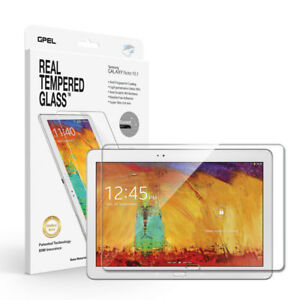 GPEL® Galaxy Note 10.1  Real Tempered Glass Screen Protector