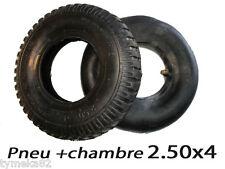 pneus chambre a air chariot piece roue  groupe electrogene 2.50x4  dim 2.50-4