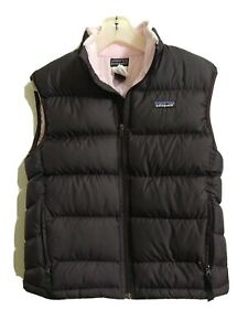 Patagonia Boys Kids Youth L 12 Down Jacket Insulated Puffer Vest  Grape Pink