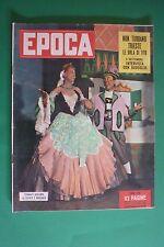 EPOCA 154/1953 MACARIO WANDA OSIRIS TEATRO ANNA MAGNANI STRESA LAGO MAGGIORE