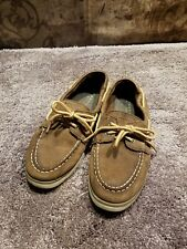 Sperry Boat Shoes Youth Boys Size 4