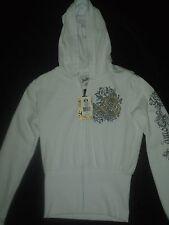 South pole White Hooded Sweatshirt Size M NEW RETAIL $60.00