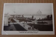 Postcard Irish International Exhibition Dublin 1907 Central Palace posted 1907