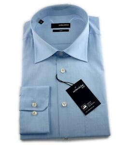 Seidensticker Langarm Business Hemd UNO Regular Kent blau Gr. 39 / 30300.11