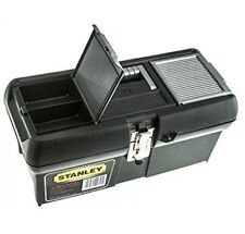Tool Storage Box Robust Waterproof Stanley Chest Organizer Toolbox DIY 16 Inc UK