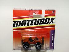 Matchbox Superfast 2009 no 55 Cliff Hanger oro Jeep MIB