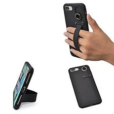 TFY 3 in 1 Design Case + Stand + Hand Strap for iPhone 7 Plus (black)