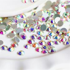 1440pcs SS6 2MM AB colour Czech Crystal Rhinestones Top Quality Flatback Nail