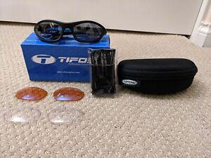 Tifosi Q3 - Black Frame - 3 Interchangable lenses - New with Tags! Free Ship!