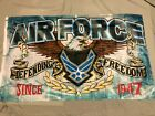 new AIR FORCE DEFENDING FREEDOM SINCE 1947 3X5ft FLAG superior quality US seller